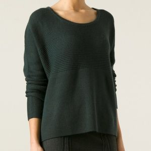 Helmut Lang Wool Ribbed Sweater M